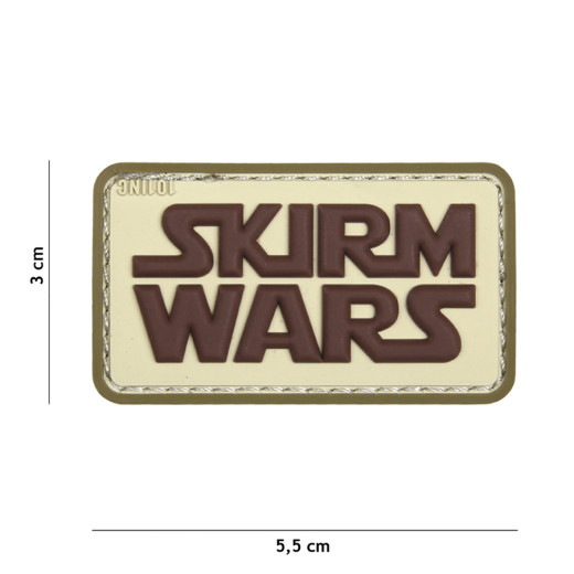 Skirm Wars, coyote / Patch 3D PVC