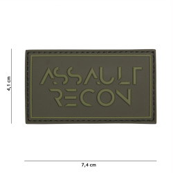 Assault Recon, green / Patch 3D PVC