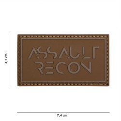 Assault Recon, coyote / Patch 3D PVC