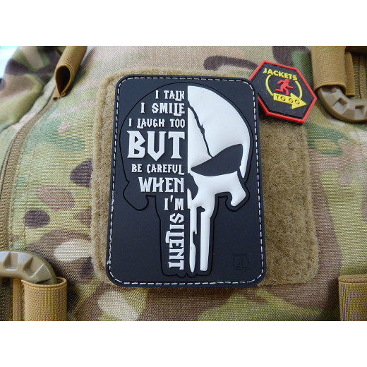 JTG SILENT PUNISHER Patch, swat / JTG 3D Rubber Patch
