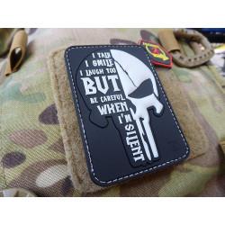 JTG SILENT PUNISHER Patch, swat / JTG 3D Rubber Patch