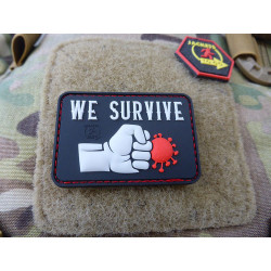 JTG WE SURVIVE PUNCH THE VIRUS Patch, swat / JTG 3D...