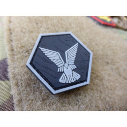 JTG Selous Scouts Hexagon Patch, swat / JTG 3D Rubber Patch