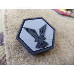 JTG Selous Scouts Hexagon Patch, steingrau oliv schwarz /...