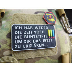 JTG Buntstifte Patch, fullcolor / JTG 3D Rubber Patch