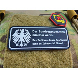 JTG Finger weg von meiner Gear Patch, limited edition /...