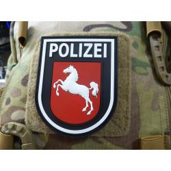 JTG Ärmelabzeichen Polizei Niedersachsen, schwarz /...