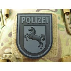 JTG Ärmelabzeichen Polizei Niedersachsen, blackops /...