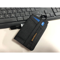 JTG CC Patch Wallet, Black, SPAEHER First on Field.