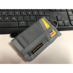 JTG CC Patch Wallet, WolfGrey, SPAEHER First on Field.