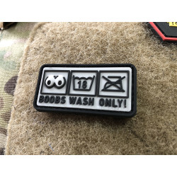 JTG Boobs Wash Only Patch   / JTG 3D Rubber Patch