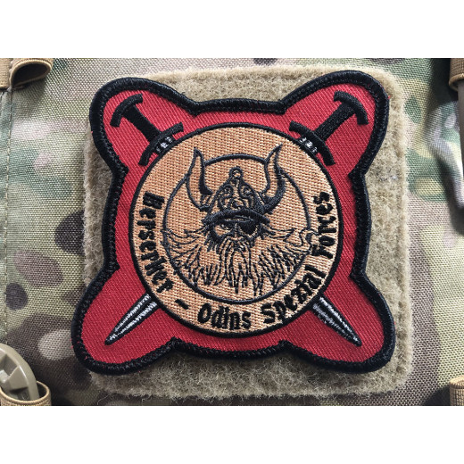 Berserker Odins Spezial Forces Patch, gestickter Patch, Sammlerpatch