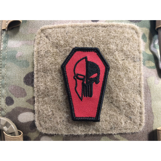 Spartan Punisher Patch, gestickter Patch, Sammlerpatch