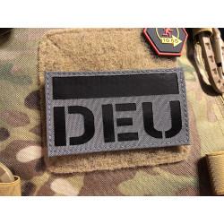 JTG Deutschlandflagge - IR / Infrarot Patch mit DEU...