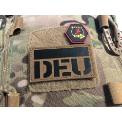 JTG  German Flag - IR / Infrared Patch with DEU country...