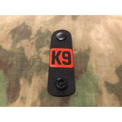NightStripes, K9, schwarz mit rotem K9 Logo