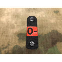 0 negativ, Blutgruppen NightStripes, schwarz mit roter Blutgruppe