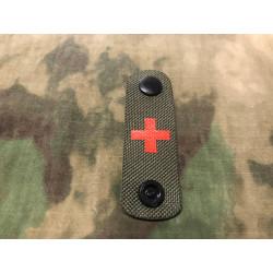 RedCross Medic / IFAK NightStripes, grün mit rotem...