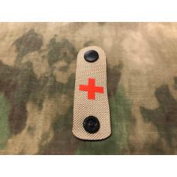 RedCross Medic / IFAK NightStripes, tan mit rotem Kreuz,...