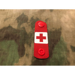 RedCross Medic / IFAK NightStripes, rot mit...