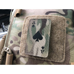 Ace of Spades Lasercut Patch, multicam, Cordura Lasercut