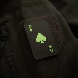 Ace of Spades Lasercut Patch, ranger-green, gid...