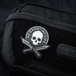 No Knife No Life, swat, 3d Rubber Patch