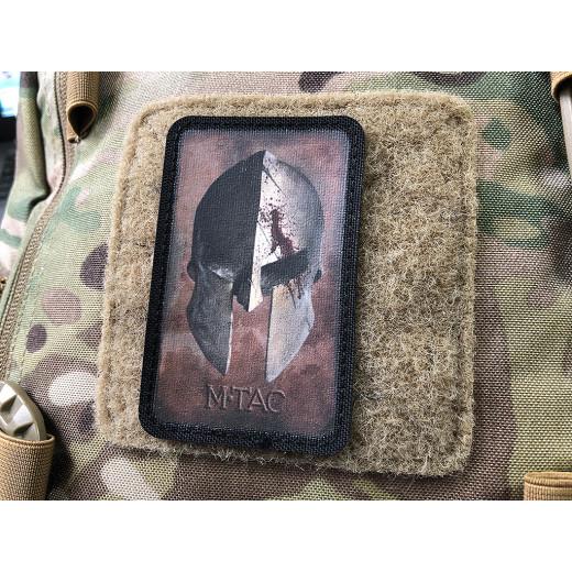 Spartan Helmet Patch, coyote