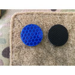 JTG GoFlex POINT Patch, blau matt, stark reflektierend,...