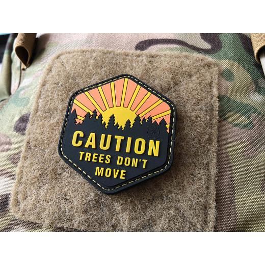 JTG Trees Don´t Move Patch, JTG 3D Rubber Patch