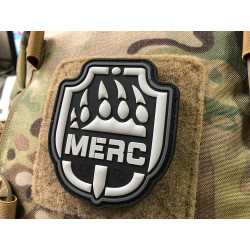 JTG MERC / Söldner Patch, steingrau-olive / JTG 3D...