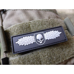 JTG SOF Skull Badge, swat / 3D Rubber patch