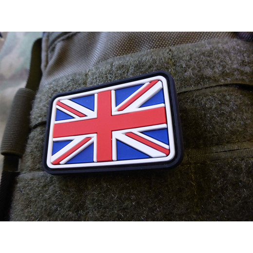 JTG - UK / Great Britain Flag Patch, fullcolor / 3D Rubber patch